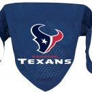 Houston Texans Pet Dog Football Jersey Bandana M/L