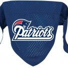 New England Patriots Pet Dog Football Jersey Bandana M/L
