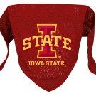 Iowa State Cyclones Pet Dog Football Jersey Bandana M/L