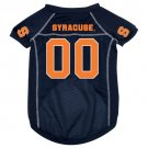 Syracuse University Orangemen Pet Dog Football Jersey Large