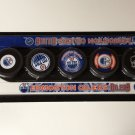 Edmonton Oilers Mini Hockey Sticks Foam Pucks Play Set