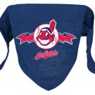 Cleveland Indians Pet Dog Baseball Jersey Bandana S/M