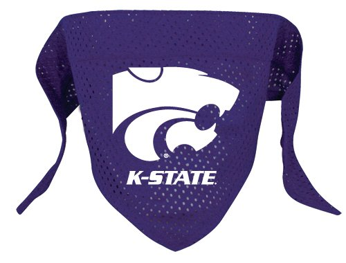 Kansas State Wildcats Pet Dog Football Jersey Bandana S/M