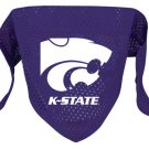 Kansas State Wildcats Pet Dog Football Jersey Bandana S/M