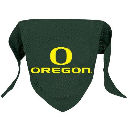 Oregon University Ducks Pet Dog Football Jersey Bandana S/M