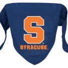 Syracuse University Orangemen Pet Dog Football Jersey Bandana S/M