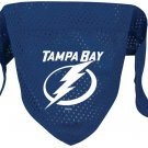 Tampa Bay Lightning Pet Dog Hockey Jersey Bandana M/L Cute