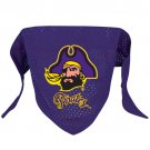 East Carolina University Pirates Pet Dog Football Jersey Bandana M/L
