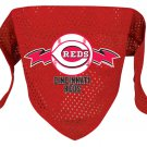 Cincinnati Reds Pet Dog Baseball Jersey Bandana S/M