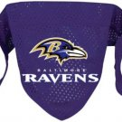 Baltimore Ravens Pet Dog Football Jersey Bandana M/L