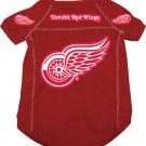 Detroit Red Wings Pet Dog Hockey Jersey Large v3