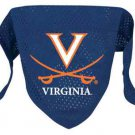Virginia University Cavaliers Pet Dog Football Jersey Bandana S/M