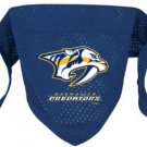 Nashville Predators Pet Dog Hockey Jersey Bandana M/L Cute