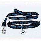 Carolina Panthers Pet Dog Leash Set Collar ID Tag Gift Size Medium