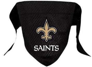 New Orleans Saints Pet Dog Football Jersey Bandana S/M