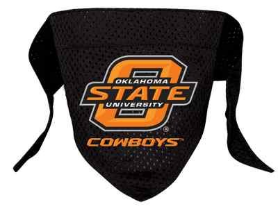 Oklahoma State Cowboys Pet Dog Football Jersey Bandana S/M