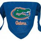 Florida University Gators Pet Dog Football Jersey Bandana M/L