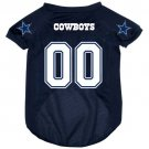 Dallas Cowboys Pet Dog Football Jersey Medium