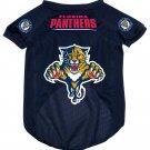 Florida Panthers Pet Dog Hockey Jersey Medium