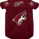 Phoenix Coyotes Pet Dog Hockey Jersey XL