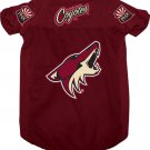 Phoenix Coyotes Pet Dog Hockey Jersey Small