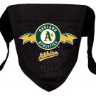 Oakland Athletics A's Pet Dog Baseball Jersey Bandana S/M