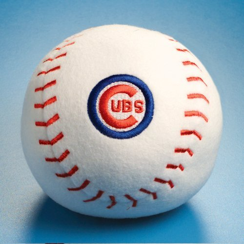 Chicago Cubs Baby Team Ball Plush Baseball Toy