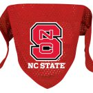 North Carolina State Wolfpack Pet Dog Football Jersey Bandana S/M