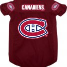 Montreal Canadiens Pet Dog Hockey Jersey Small