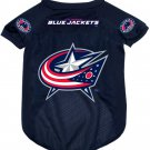 Columbus Blue Jackets Pet Dog Hockey Jersey Small