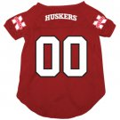 Nebraska University Cornhuskers Pet Dog Football Jersey XL