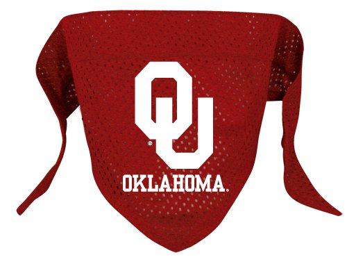Oklahoma University Sooners Pet Dog Football Jersey Bandana S/M