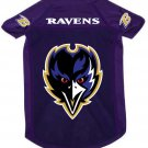 Baltimore Ravens Pet Dog Football Jersey Alternate Purple Medium