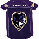 Baltimore Ravens Pet Dog Football Jersey Alternate Purple XL
