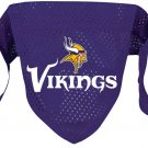 Minnesota Vikings Pet Dog Football Jersey Bandana S/M