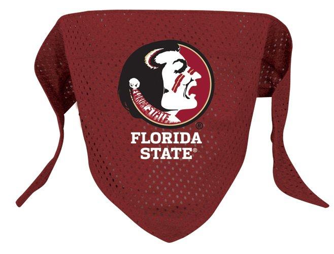 Florida State Seminoles Pet Dog Football Jersey Bandana S/M