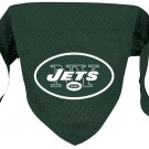 NY New York Jets Pet Dog Football Jersey Bandana M/L