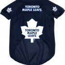 Toronto Maple Leafs Pet Dog Hockey Jersey Large