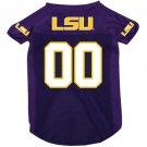 LSU Louisiana State University Tigers Pet Dog Football Jersey XL