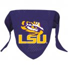 LSU Louisiana State Tigers Pet Dog Football Jersey Bandana S/M
