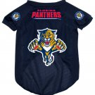 Florida Panthers Pet Dog Hockey Jersey Small v3