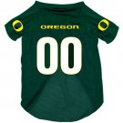 Oregon University Ducks Pet Dog Football Jersey Medium
