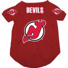 New Jersey Devils Pet Dog Hockey Jersey Small