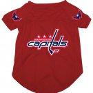 Washington Capitals Pet Dog Hockey Jersey Medium