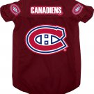 Montreal Canadiens Pet Dog Hockey Jersey Large
