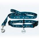 Philadelphia Eagles Pet Dog Leash Set Collar ID Tag Gift Size Small