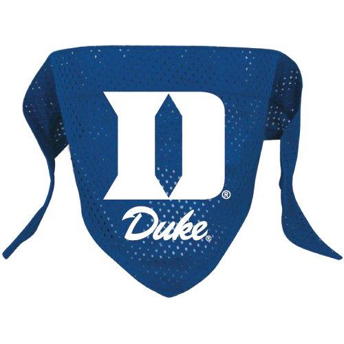 Duke University Blue Devils Pet Dog Football Jersey Bandana M/L