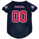 Arizona University Wildcats Pet Dog Football Jersey XL