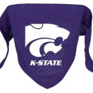 Kansas State Wildcats Pet Dog Football Jersey Bandana M/L