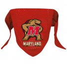 Maryland University Terrapins  Pet Dog Football Jersey Bandana S/M